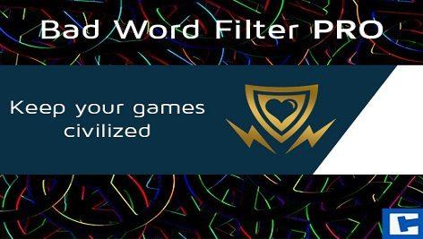 پکیج یونیتی Bad Word Filter PRO