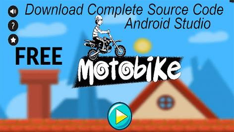 سورس بازی اندروید استدیو Motorbike Game Android Studio