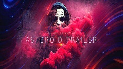 پروژه افتر افکت تریلر سینمایی Asteroid Cinematic Trailer