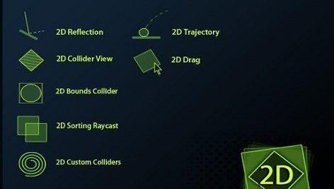 پکیج پلاگین یونیتی 2D Physics Toolkit