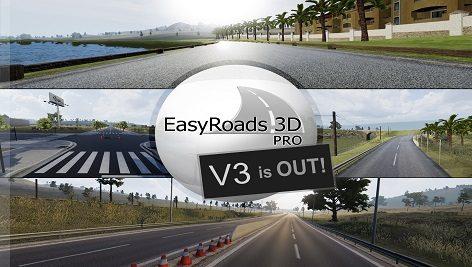 افزونه ساخت جاده در یونیتی EasyRoads3D Pro v3