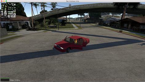 پکیج کامل بازی جی تی ای یونیتی San Andreas Unity
