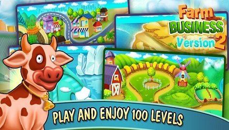 دانلود پروژه کامل بازی یونیتی Farm Business Version 2
