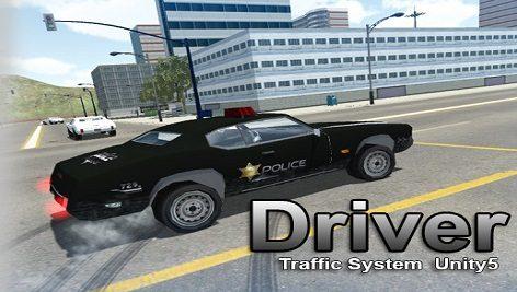 پکیج کامل یونیتی Driver Traffic System