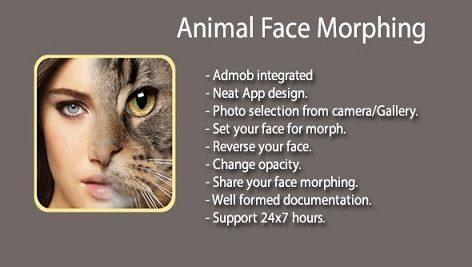 سورس اندروید استدیو FotoMix – Animal Face Morphing
