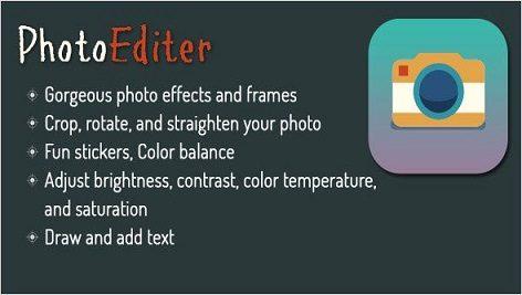 سورس اندروید استدیو ادیت عکس Photo Editor for Android – Using Aviary