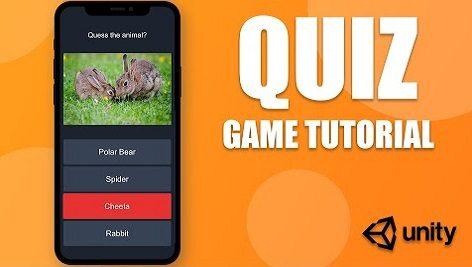 آموزش ساخت بازی Quiz در یونیتی به همراه سورس