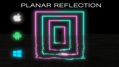 Fast Mobile Planar Reflection