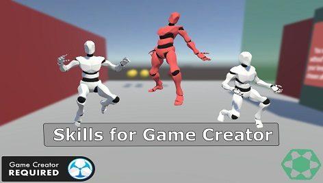پکیج یونیتی Skills for Game Creator